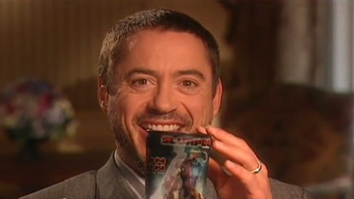 "[Downey's ""Iron Man"" Slurpee Surprise]"