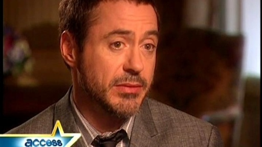 "Robert Downey Jr. Talks Playing ""Iron Man"" Video"