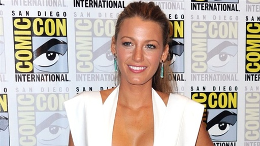 Comic-Con 2010: Blake Lively On 'Green Lantern': It Was 'a Wonde Video