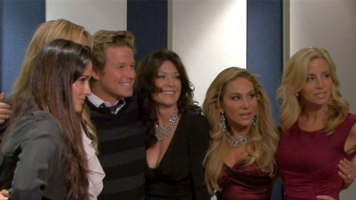 ['The Real Housewives of Beverly Hills' Visit 'the Billy Bush Sho]