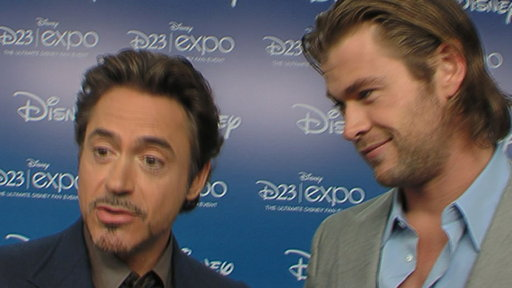 Does Robert Downey Jr. Feel 'Cape Envy' in 'The Avengers'? Video