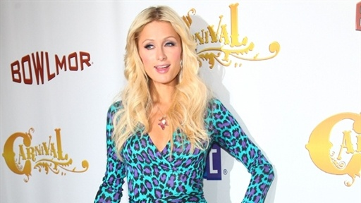Paris Hilton Celebrates Carnival at Bowlmor Lanes, NYC Opening Video