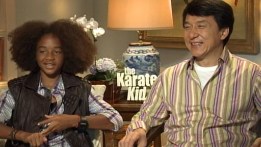 Jaden Smith & Jackie Chan Kick It in 'the Karate Kid' Video