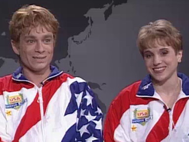 [Kerry Strug and Kippy Strug]