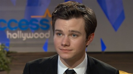 [2011 Golden Globes: Backstage With 'Glee's' Chris Colfer]