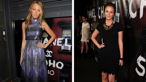 ['Gossip Girl's' Blake Lively & Leighton Meester Get Glam] Video