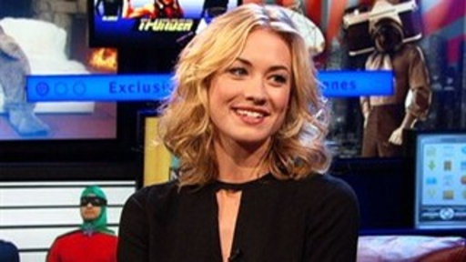 "[Yvonne Strahovski Talks ""Killer Elite""]"