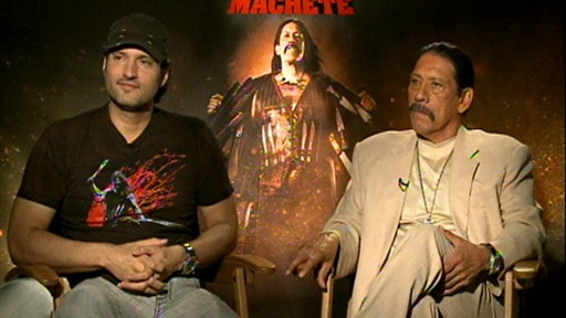 [Robert Rodriguez & Danny Trejo Discuss Lindsay Lohan's 'Machete']