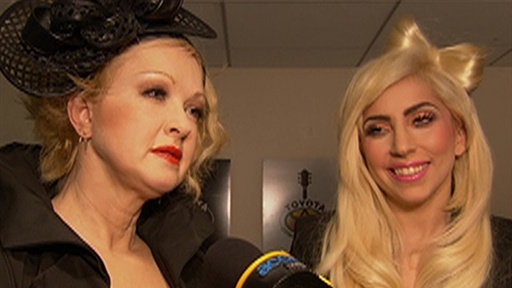 [Lady Gaga & Cyndi Lauper: 'the Power Is in Your Own Hands' to Pr]