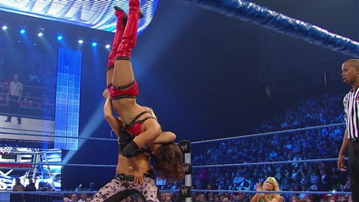 Divas Champion Natalya Vs. Layla Video