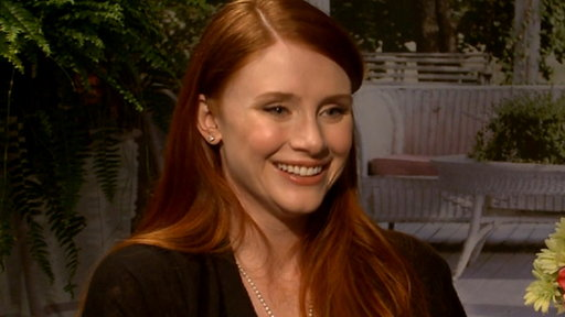 Bryce Dallas Howard On Her Pregnancy Video