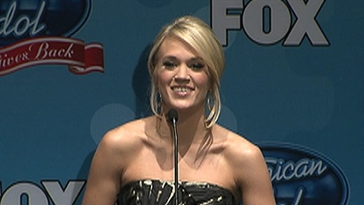 Carrie Underwood 'Gives Back' On 'Idol' Video