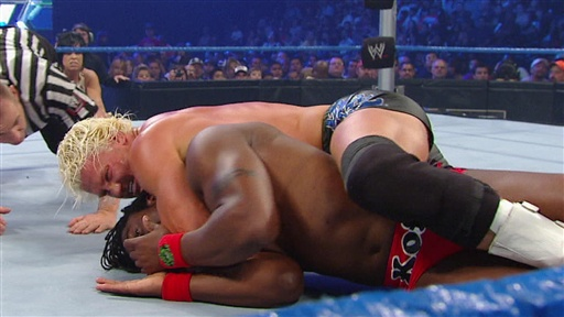 [Kofi Kingston Vs. Intercontinental Champion Dolph Ziggler]