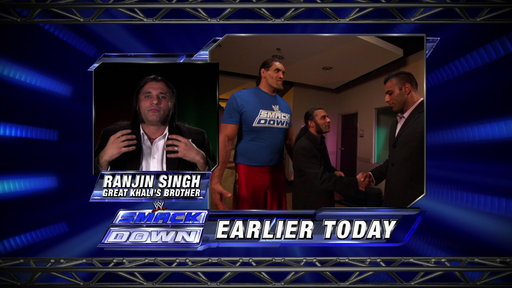 [Ranjin Singh addresses The WWE Universe]