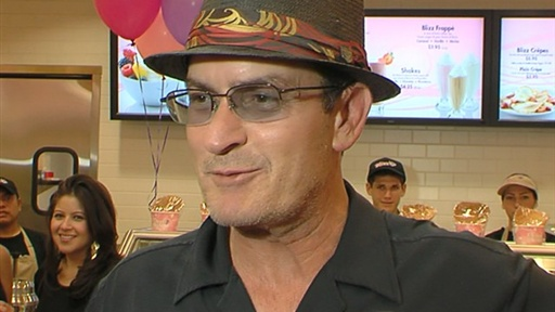 Charlie Sheen Chills Out Video