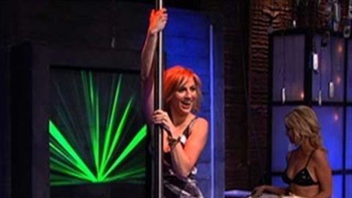 Alison Haislip Tries the Stripper Pole Video