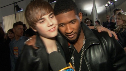 2010 American Music Awards: Justin Bieber Makes Usher Proud Video