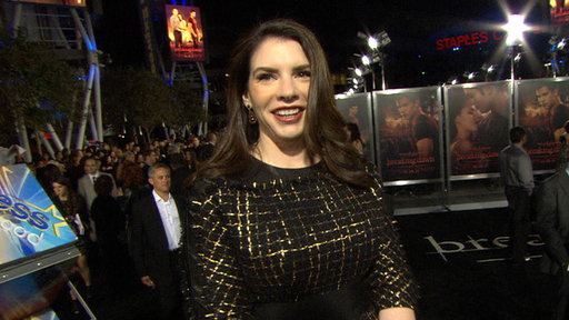 [Stephenie Meyer On the 'Breaking Dawn - Part I' Premiere: 'It's]