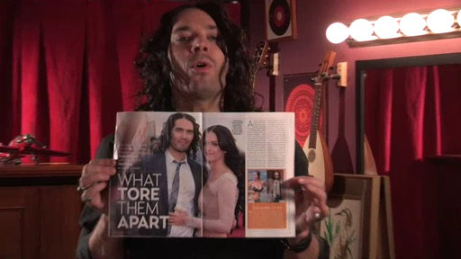 "[Russell Brand Reads ""Us Weekly""]"