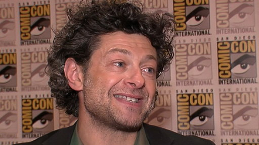 [Andy Serkis Talks 'Rise of the Planet of the Apes' & 'The Hobbit]