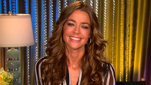 [Denise Richards Beams Over New Baby & Reveals if Charlie Sheen H]