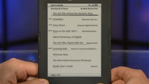 Amazon Kindle EReader Review Video