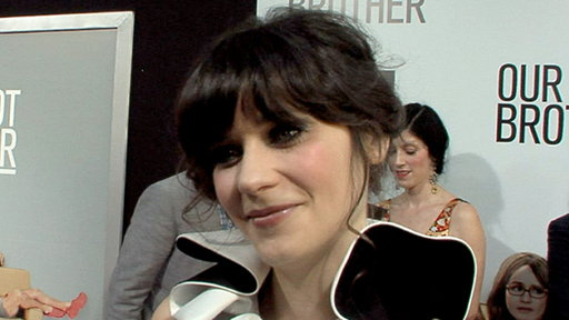[Zooey Deschanel Talks 'New Girl']