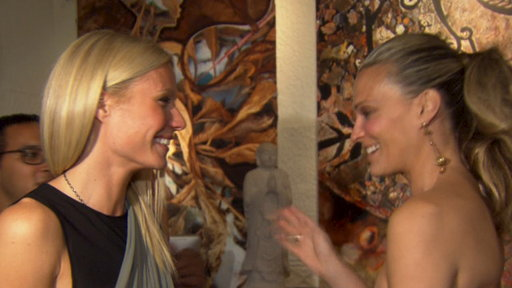 [Gwyneth Paltrow & Molly Sims 'Bent' On Helping Children]