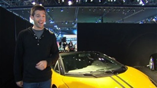 [Blair Visits the 2011 New York Auto Show]