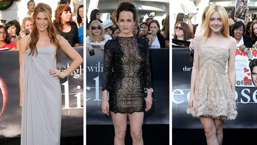 [The Women of 'the Twilight Saga: Eclipse' Glam up for Premiere]