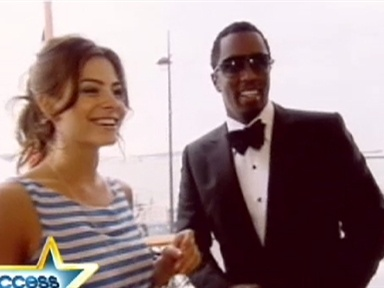 Diddy at Cannes Video