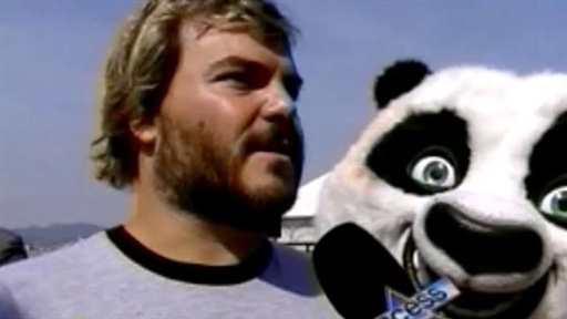 Jack Black Kung Fu Fighting Video