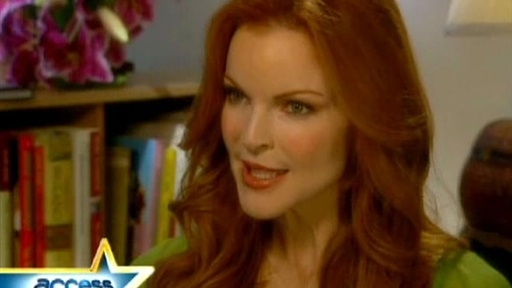 [Marcia Cross Talks Motherhood]
