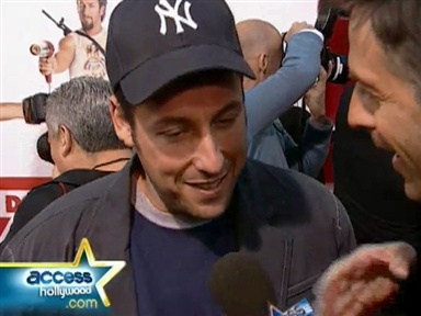 "Sandler ""Zohan"" Premiere Video"