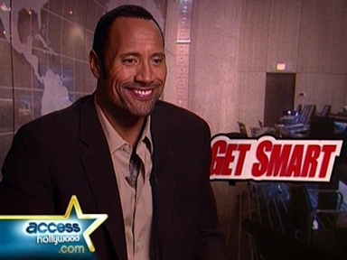 "[Dwayne Johnson Talks ""Get Smart""]"