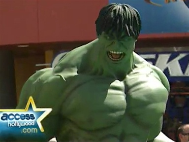 &quot;The Incredible Hulk&quot; Premiere Video