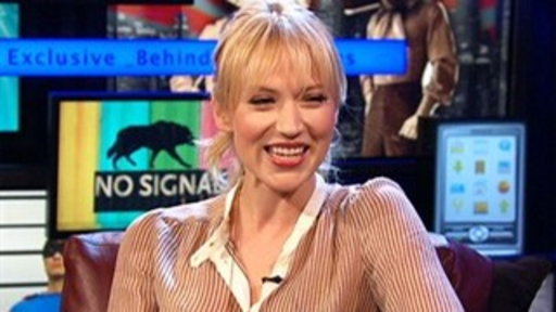 Leverage&#39;s Beth Riesgraf Talks About Horses and Falconry Video