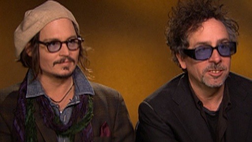 [Johnny Depp & Tim Burton On 'Alice in Wonderland']