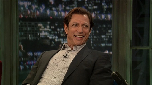 [Jeff Goldblum Talks Hair]