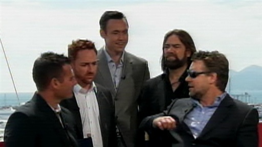 Cannes 2010: Russell Crowe and The Merry Men Talk 'Robin Hood' Video