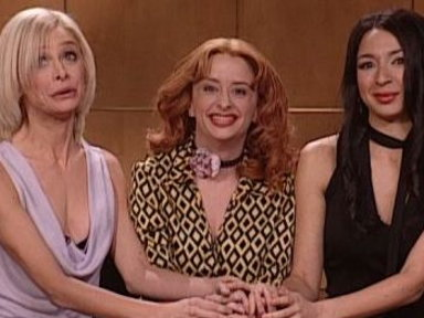 [Cameron Diaz, Drew Barrymore, and Lucy Liu]