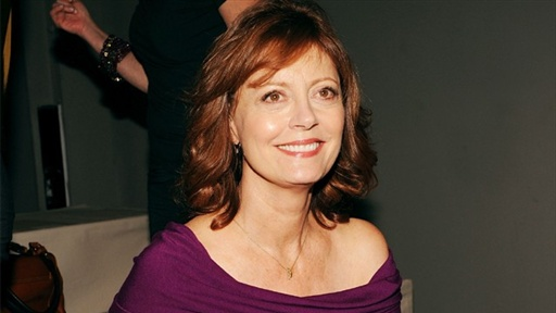 New York Fashion Week: Susan Sarandon Clears up 'Glee' Rumors Video