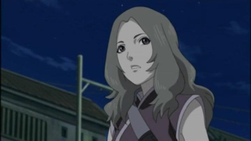 Having arrived at the village, Hotaru parts with Naruto and his team.