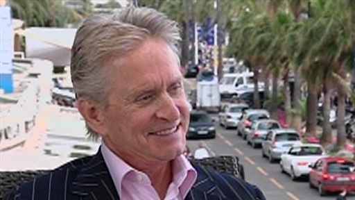 Cannes 2010: Michael Douglas Talks 'Wall Street: Money Never Sle Video