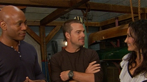 LL Cool J and Chris O'Donnell Having A Ball On 'NCIS: Los Angele view on break.com tube online.