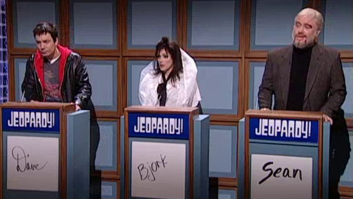 [Celebrity Rock 'N Roll Jeopardy]