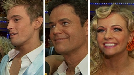 ['Dancing' Recap: Donny Osmond's Surprising Lip Lock]