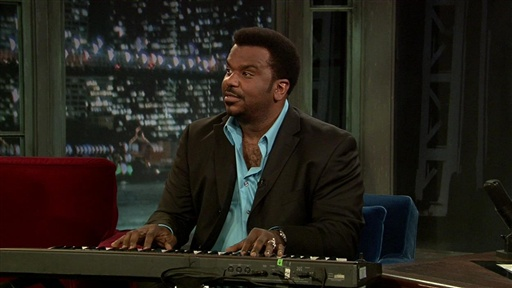 "[Craig Robinson: ""If You're Happy and You Know It""]"