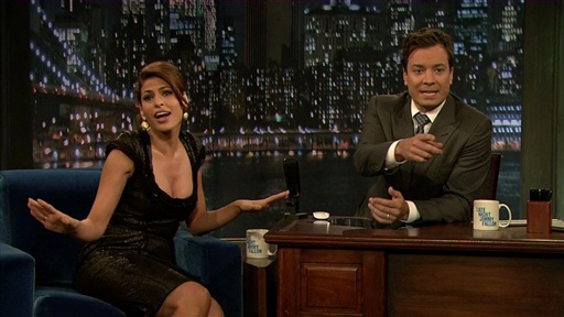 [Jimmy and Eva Mendes: Dancing With the Stars] Video