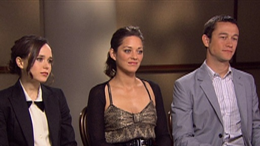 [Ellen Page, Marion Cotillard & Joseph Gordon-Levitt Talk 'Incept] Video
